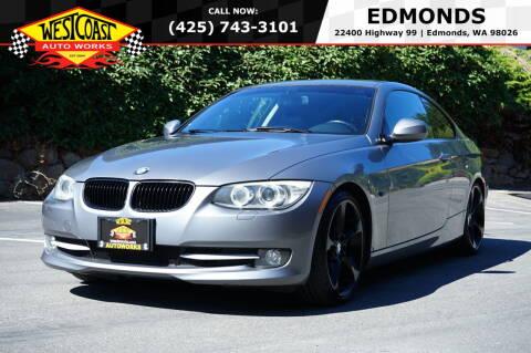 2011 BMW 3 Series for sale at West Coast Auto Works in Edmonds WA