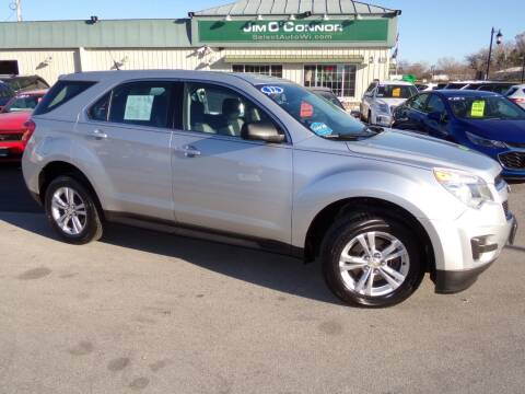 2012 Chevrolet Equinox for sale at Jim O'Connor Select Auto in Oconomowoc WI