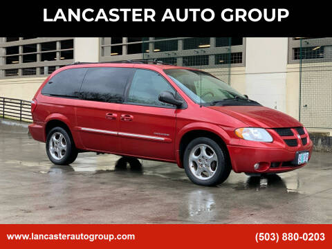 2001 Dodge Grand Caravan for sale at LANCASTER AUTO GROUP in Portland OR