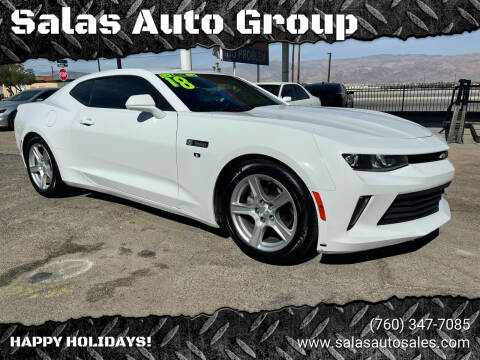 2018 Chevrolet Camaro for sale at Salas Auto Group in Indio CA