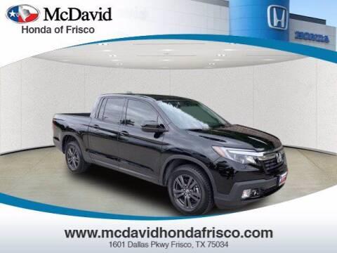 2019 Honda Ridgeline for sale at DAVID McDAVID HONDA OF IRVING in Irving TX