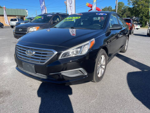 2016 Hyundai Sonata for sale at Cars for Less in Phenix City AL
