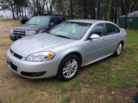 2012 Chevrolet Impala for sale at Northwoods Auto & Truck Sales in Machesney Park IL