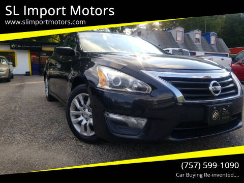 2014 Nissan Altima for sale at SL Import Motors in Newport News VA