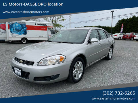 2006 Chevrolet Impala for sale at ES Motors-DAGSBORO location in Dagsboro DE