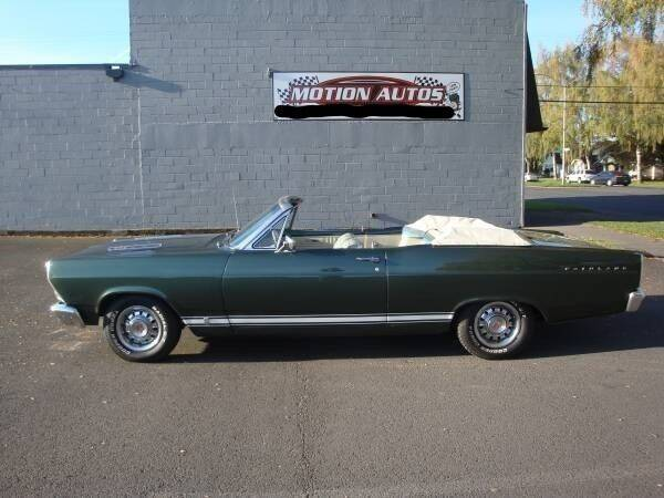 1966 Ford Fairlane for sale at Motion Autos in Longview WA