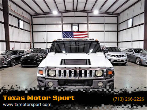 2005 HUMMER H2 SUT for sale at Texas Motor Sport in Houston TX