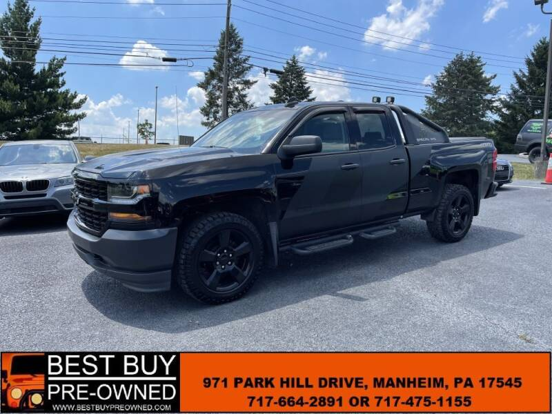 2018 Chevrolet Silverado 1500 for sale at Best Buy Pre-Owned in Manheim PA
