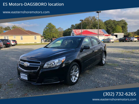 2013 Chevrolet Malibu for sale at ES Motors-DAGSBORO location in Dagsboro DE
