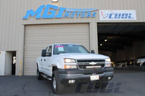 2006 Chevrolet Silverado 2500HD for sale at MGI Motors in Sacramento CA