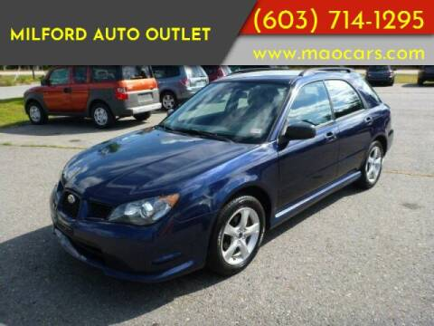 2006 Subaru Impreza for sale at Milford Auto Outlet in Milford NH