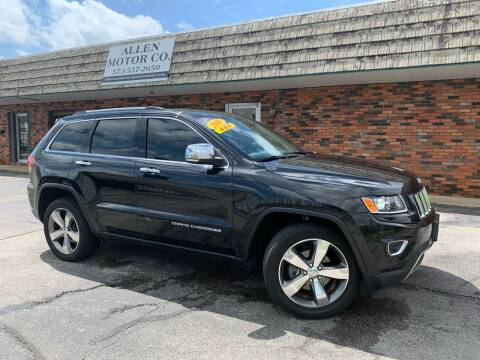 2016 Jeep Grand Cherokee for sale at Allen Motor Company in Eldon MO