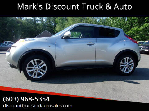 2012 Nissan JUKE for sale at Mark's Discount Truck & Auto in Londonderry NH