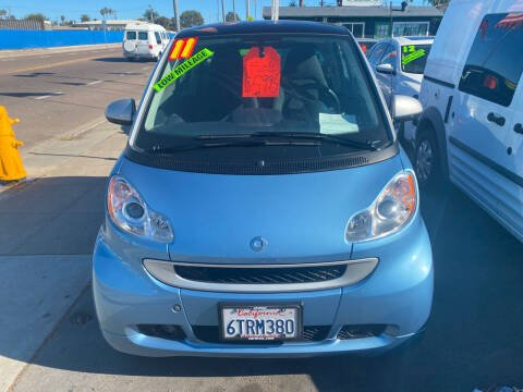 2011 Smart fortwo for sale at North County Auto in Oceanside CA