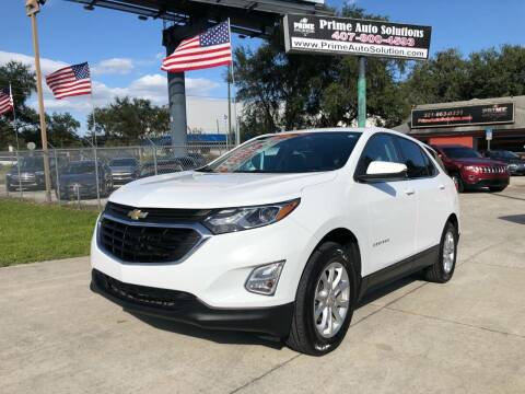 2018 Chevrolet Equinox for sale at Prime Auto Solutions in Orlando FL