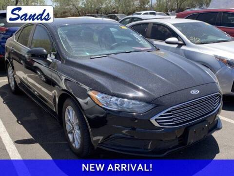 2017 Ford Fusion for sale at Sands Chevrolet in Surprise AZ