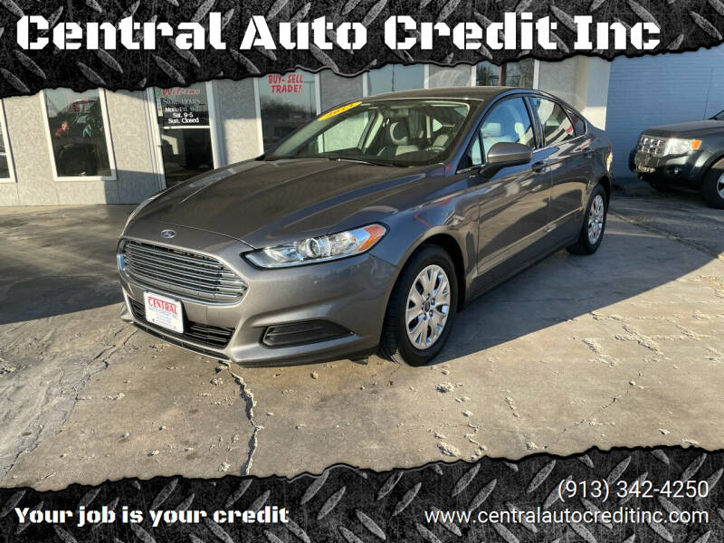 2013 Ford Fusion for sale at Central Auto Credit Inc in Kansas City KS