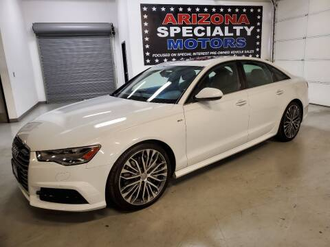 2017 Audi A6 for sale at Arizona Specialty Motors in Tempe AZ