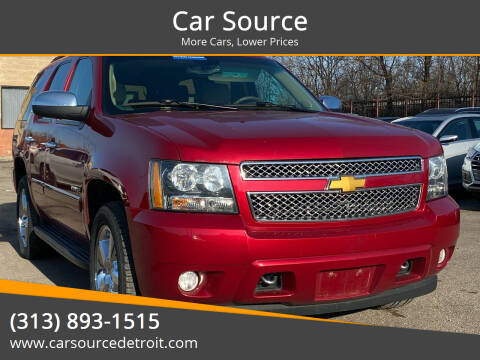 2014 Chevrolet Tahoe for sale at Car Source in Detroit MI