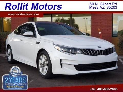 2016 Kia Optima for sale at Rollit Motors in Mesa AZ