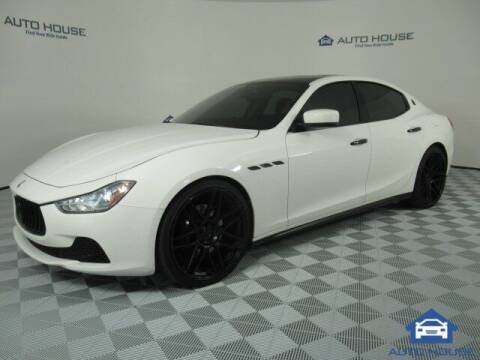 2015 Maserati Ghibli for sale at Autos by Jeff Tempe in Tempe AZ