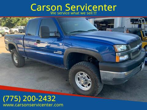 2003 Chevrolet Silverado 2500HD for sale at Carson Servicenter in Carson City NV
