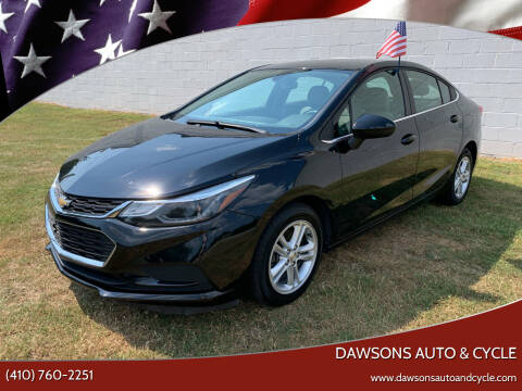 2017 Chevrolet Cruze for sale at Dawsons Auto & Cycle in Glen Burnie MD