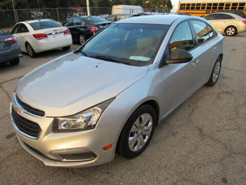 2015 Chevrolet Cruze for sale at King of Auto in Stone Mountain GA
