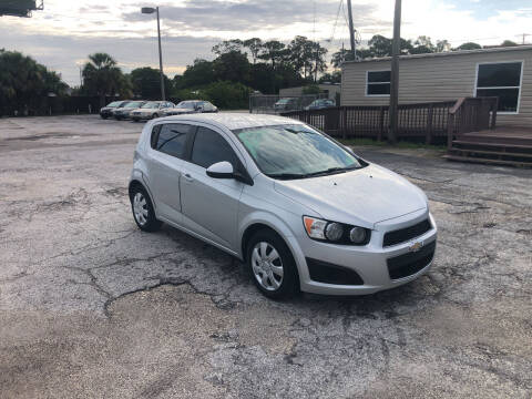 2014 Chevrolet Sonic for sale at Friendly Finance Auto Sales in Port Richey FL
