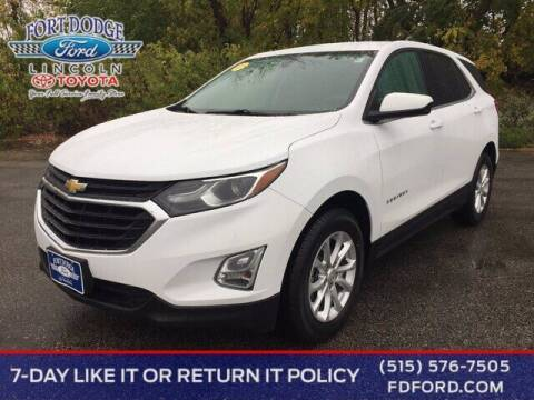 2019 Chevrolet Equinox for sale at Fort Dodge Ford Lincoln Toyota in Fort Dodge IA