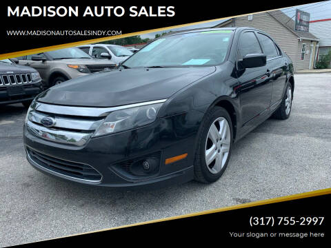 2010 Ford Fusion for sale at MADISON AUTO SALES in Indianapolis IN