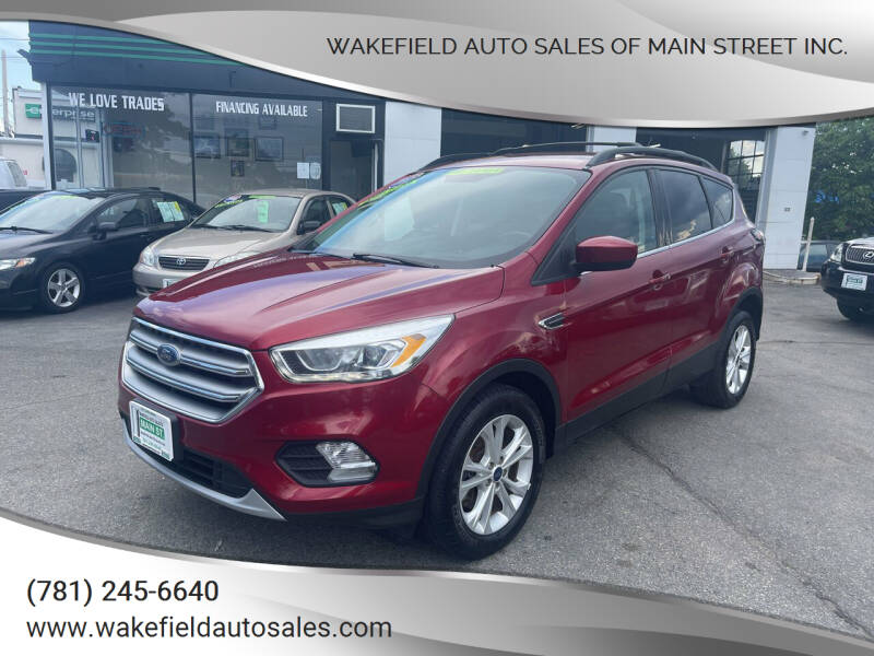 2017 Ford Escape for sale at Wakefield Auto Sales of Main Street Inc. in Wakefield MA