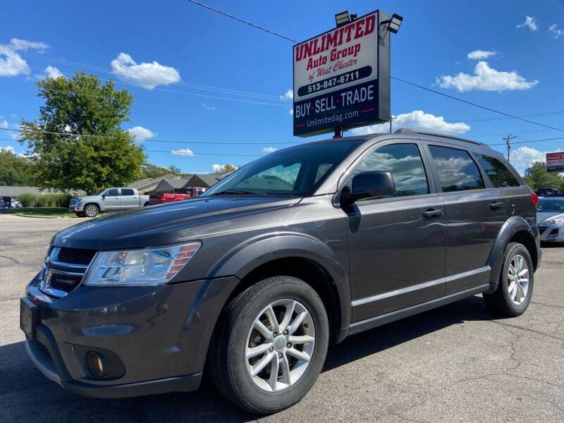 2016 Dodge Journey for sale at Unlimited Auto Group in West Chester OH