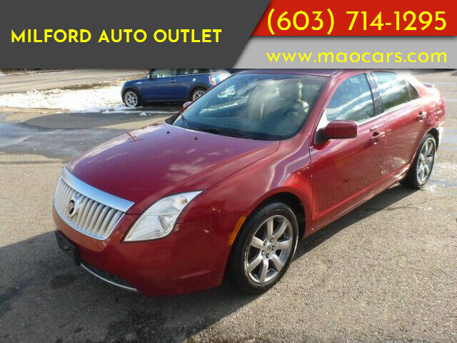 2010 Mercury Milan for sale at Milford Auto Outlet in Milford NH