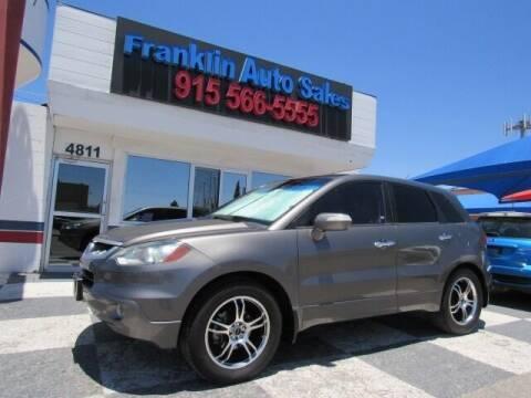 2007 Acura RDX for sale at Franklin Auto Sales in El Paso TX