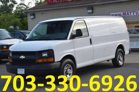 2009 Chevrolet Express Cargo for sale at MANASSAS AUTO TRUCK in Manassas VA
