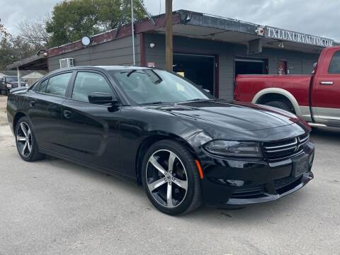 2017 Dodge Charger for sale at Texas Luxury Auto in Houston TX