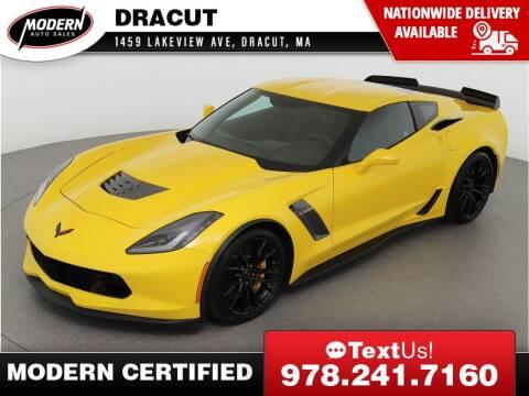 2017 Chevrolet Corvette for sale at Modern Auto Sales in Tyngsboro MA