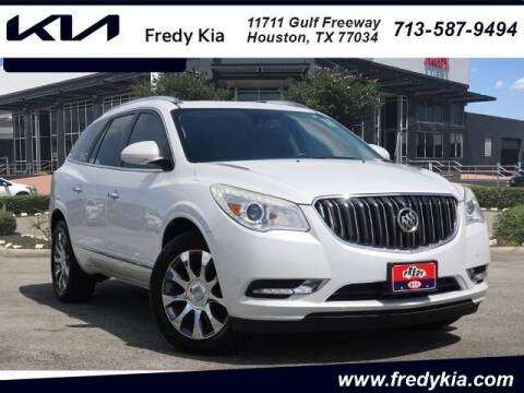 2016 Buick Enclave for sale at FREDY KIA USED CARS in Houston TX
