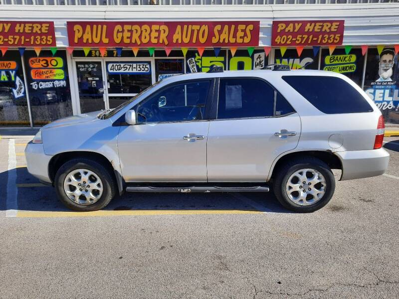 2001 Acura MDX for sale at Paul Gerber Auto Sales in Omaha NE