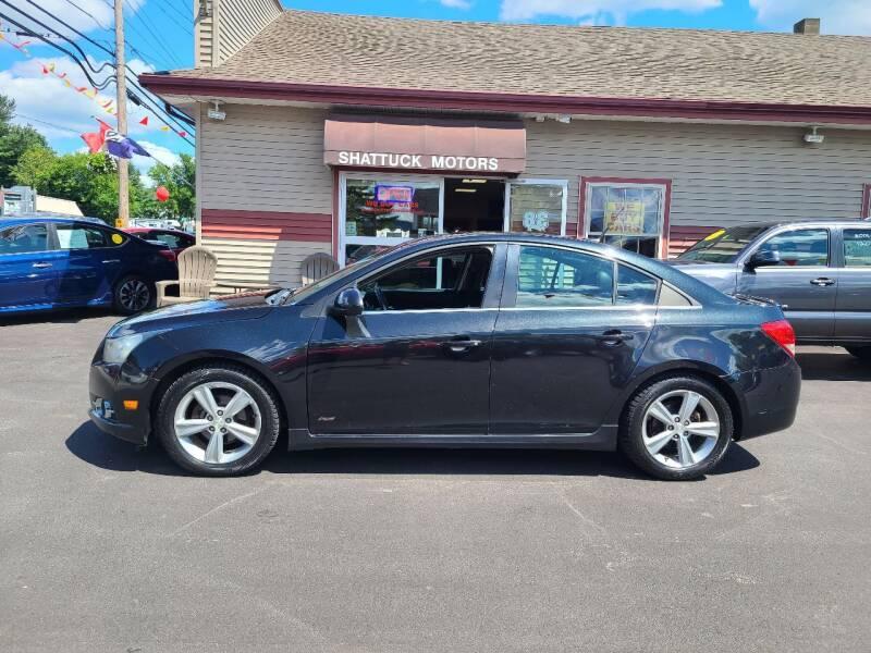2012 Chevrolet Cruze for sale at Shattuck Motors in Newport VT