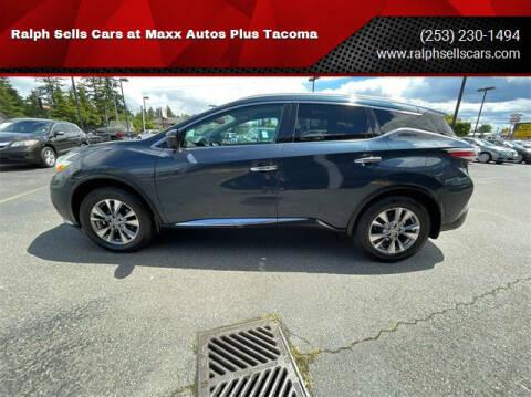 2016 Nissan Murano for sale at Ralph Sells Cars at Maxx Autos Plus Tacoma in Tacoma WA