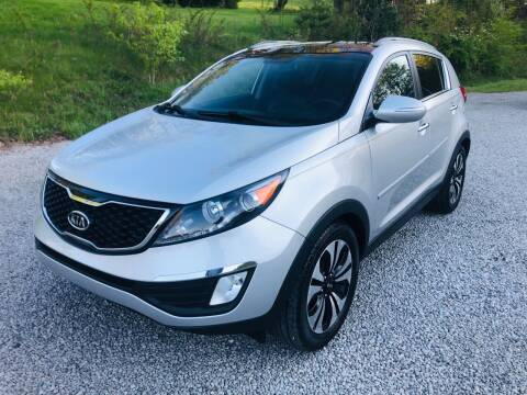 2011 Kia Sportage for sale at R.A. Auto Sales in East Liverpool OH