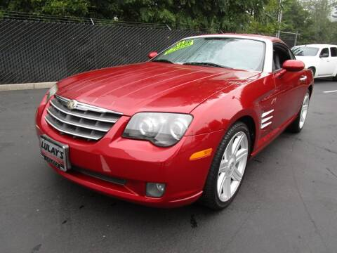 2004 Chrysler Crossfire for sale at LULAY'S CAR CONNECTION in Salem OR