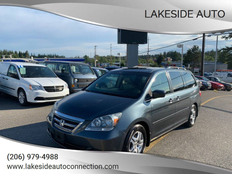 2006 Honda Odyssey for sale at Lakeside Auto in Lynnwood WA