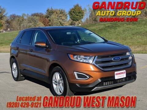 2017 Ford Edge for sale at GANDRUD CHEVROLET in Green Bay WI