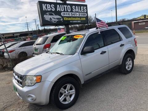 2008 Ford Escape for sale at KBS Auto Sales in Cincinnati OH