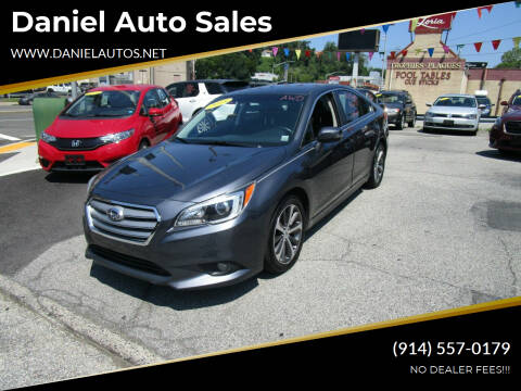 2015 Subaru Legacy for sale at Daniel Auto Sales in Yonkers NY