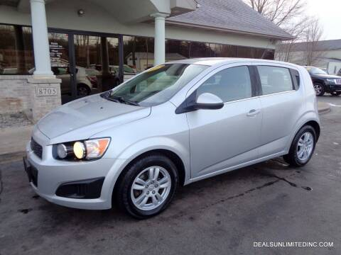 2013 Chevrolet Sonic for sale at DEALS UNLIMITED INC in Portage MI
