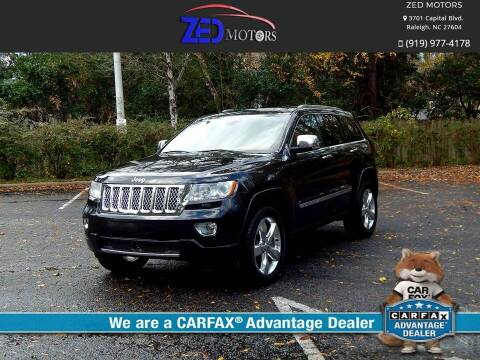 2011 Jeep Grand Cherokee for sale at Zed Motors in Raleigh NC
